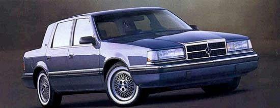 1991 Dodge Dynasty Car Advertising Cars Dodge