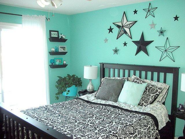 Teal Bedroom Idea For Teenage Girl Bedroom Decor Teenage Girl
