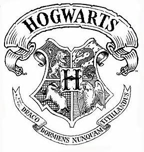 harry potter badge coloring pages | Hogwarts sketch | Harry Potter quotes fandom art home ...