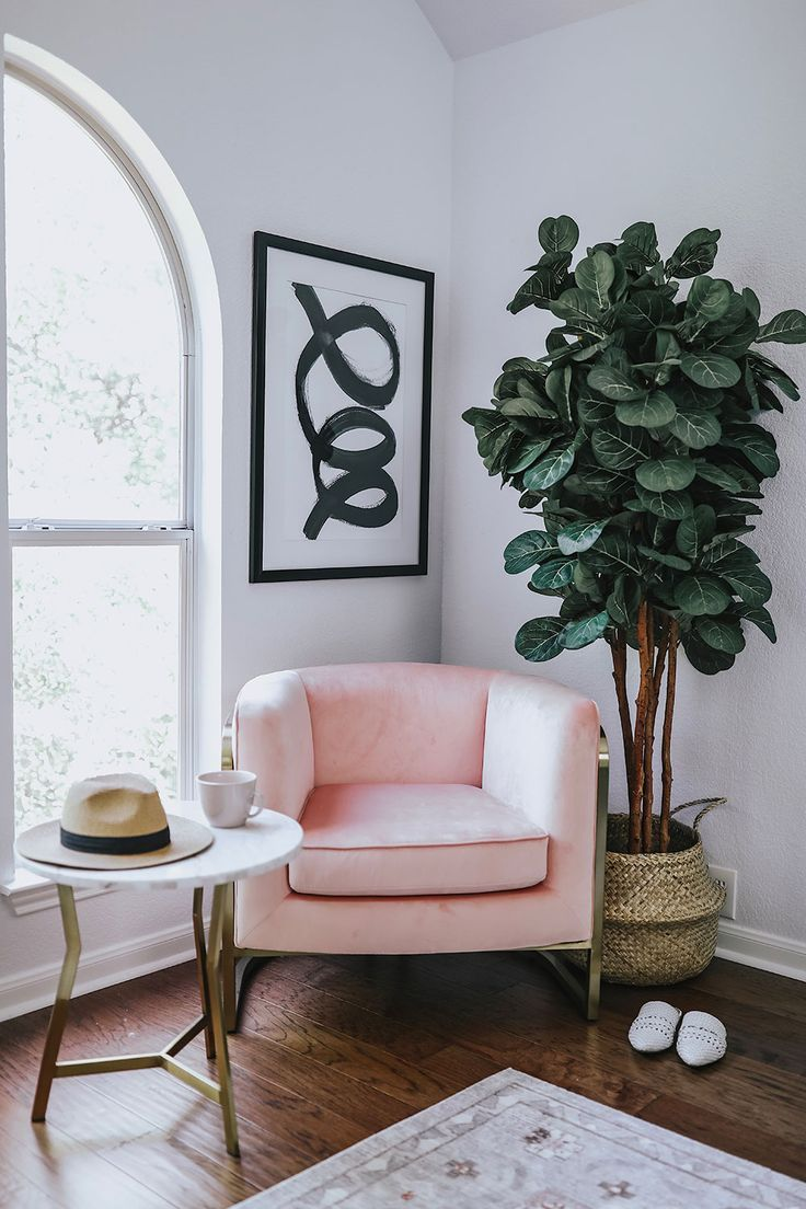 Modern Master Bedroom Reading Nook with Walmart Furniture