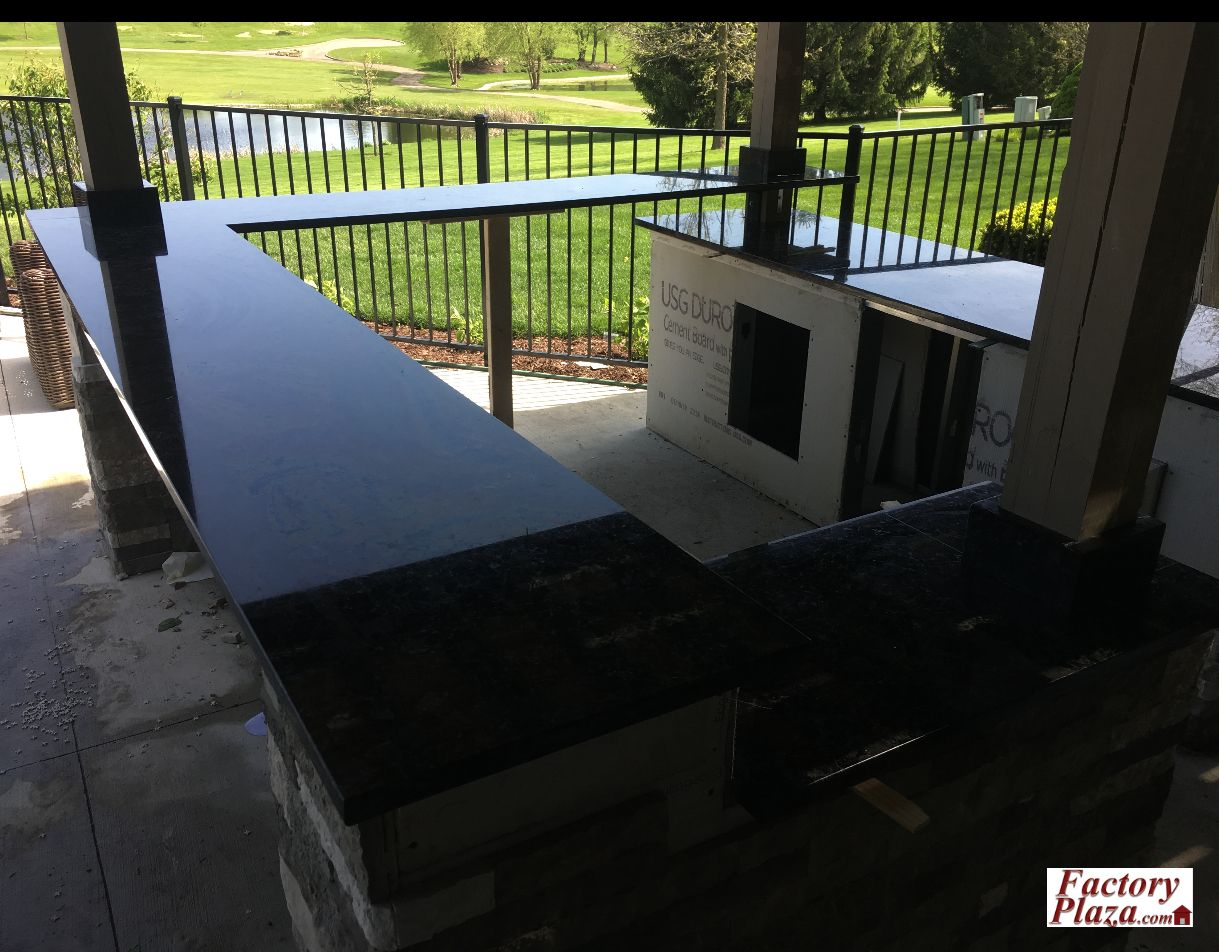 Factory Plaza measure, fabricate and install outdoor