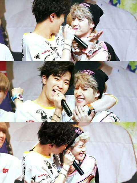 Youngjae and Mark