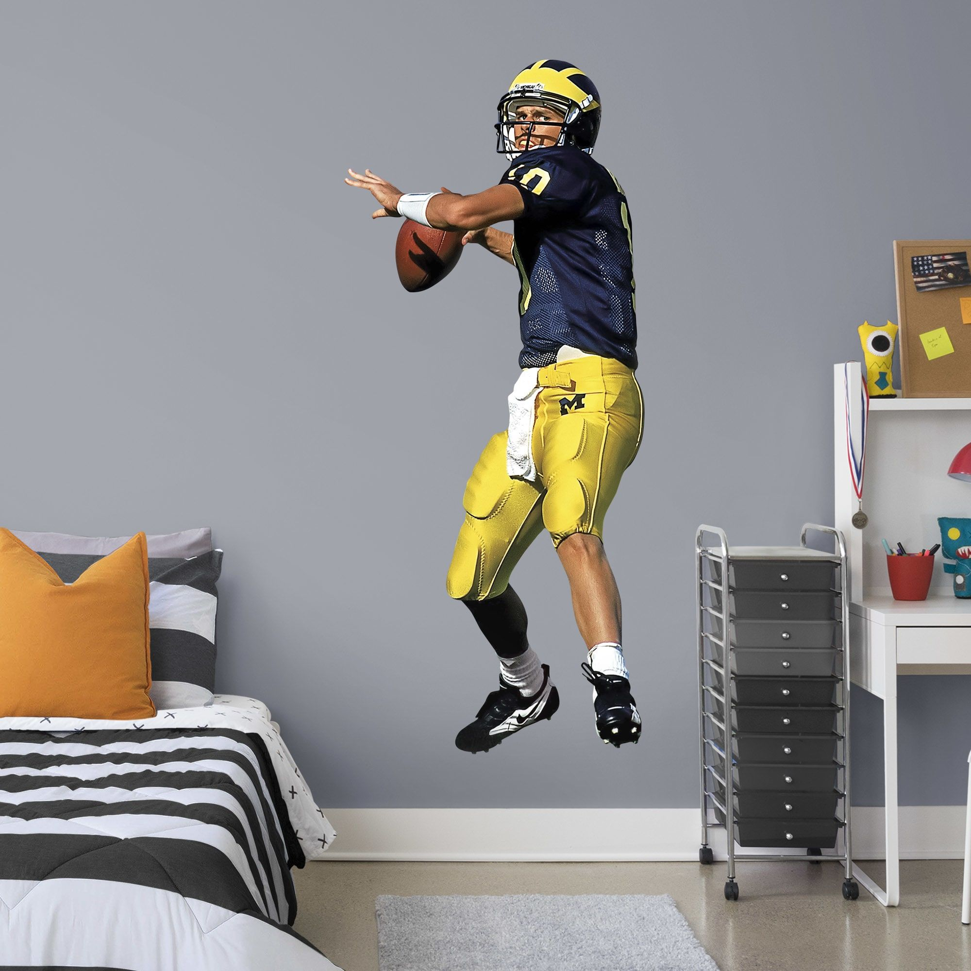 Tom Brady Michigan LifeSize Officially Licensed