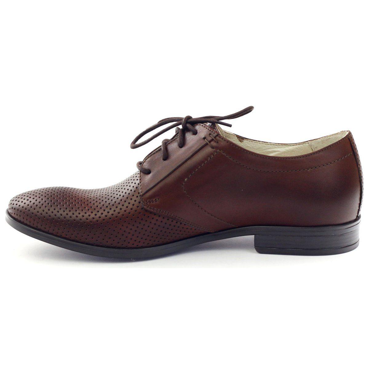 Polbuty Meskie Tur 344 Brazowe Dress Shoes Men Oxford Shoes Dress Shoes