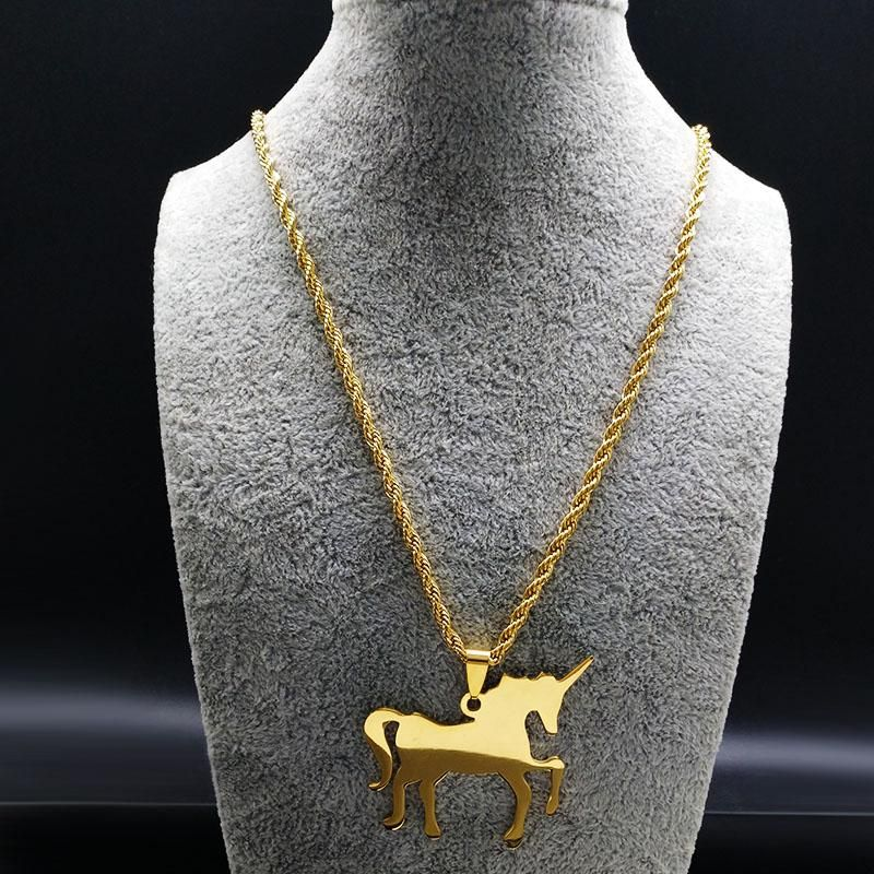 Animal jewelry gold jewelry Horse necklace -14k gold filled everyday horse pendant gold necklace