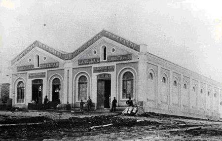 Fábrica de Chocolates Falchi em 1897