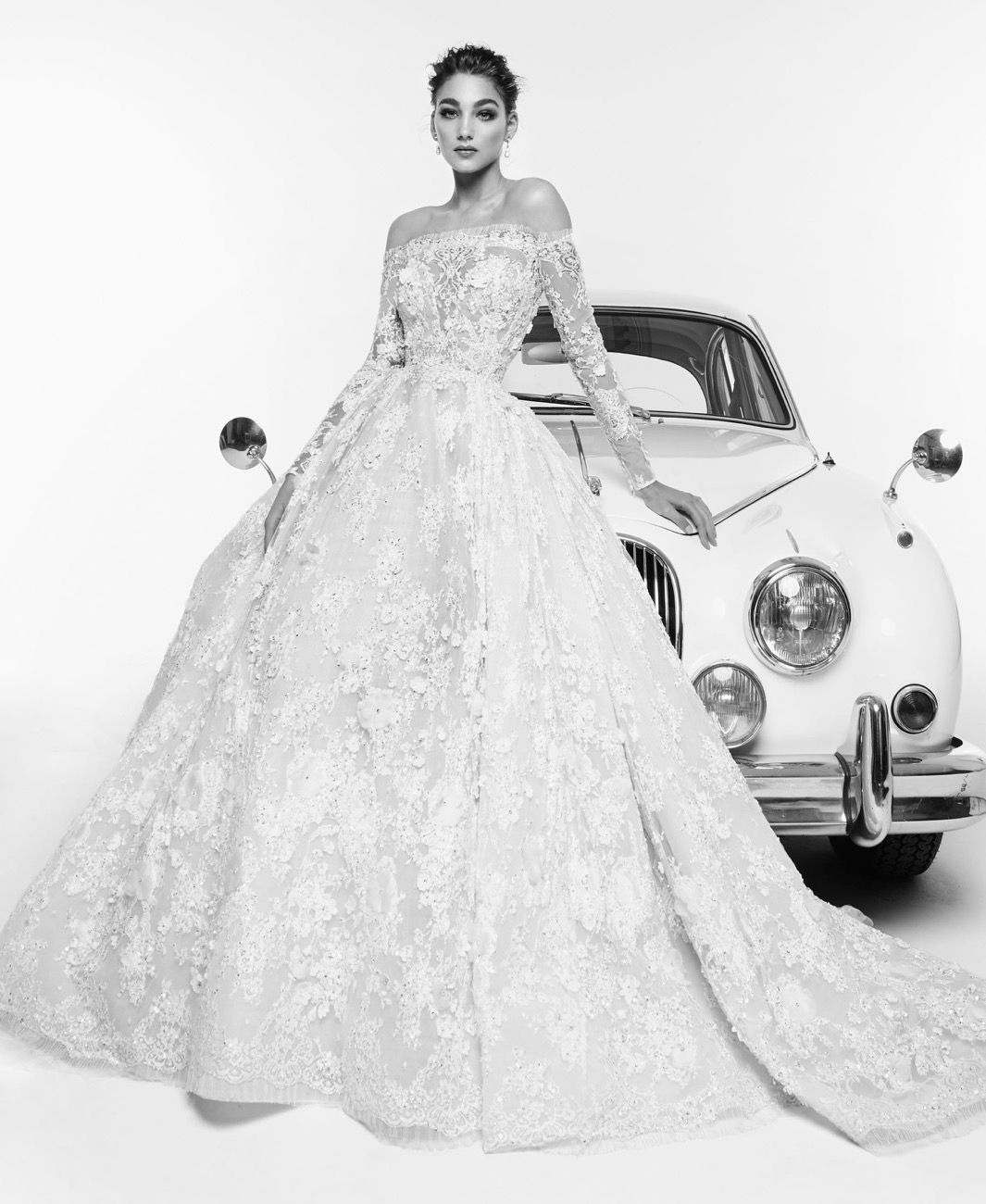 zuhair murad spring 2019 bridal collection - rafaelle