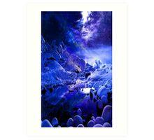 Yule Night Dreams Art Print