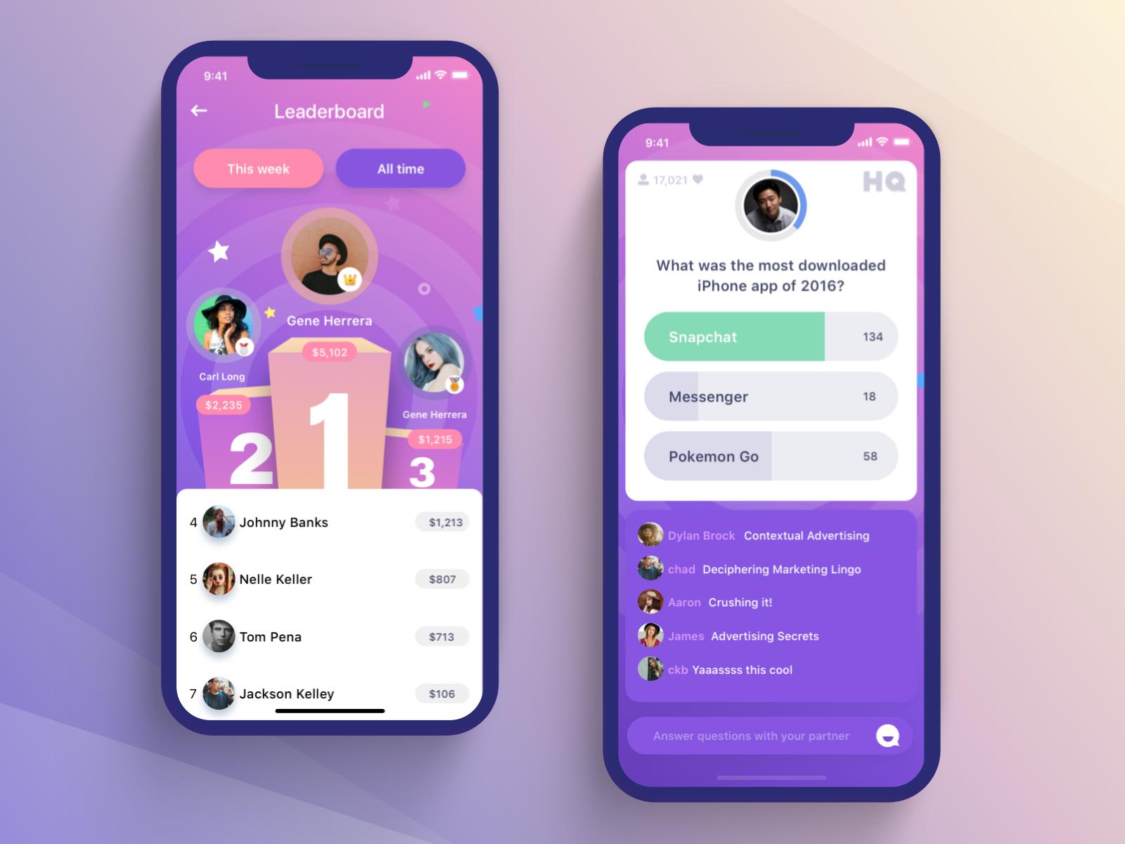 Full Screens Of Hq Redesign Apps Ux Design Ideias