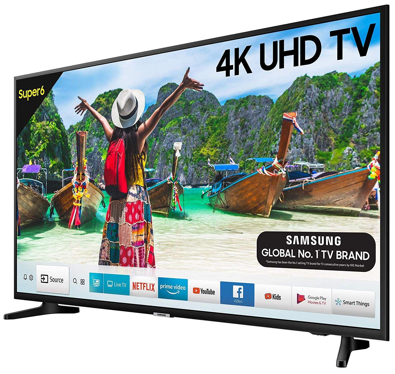 Samsung 125 Cm 50 Inches Super 6 Series 4k Uhd Led Smart Tv