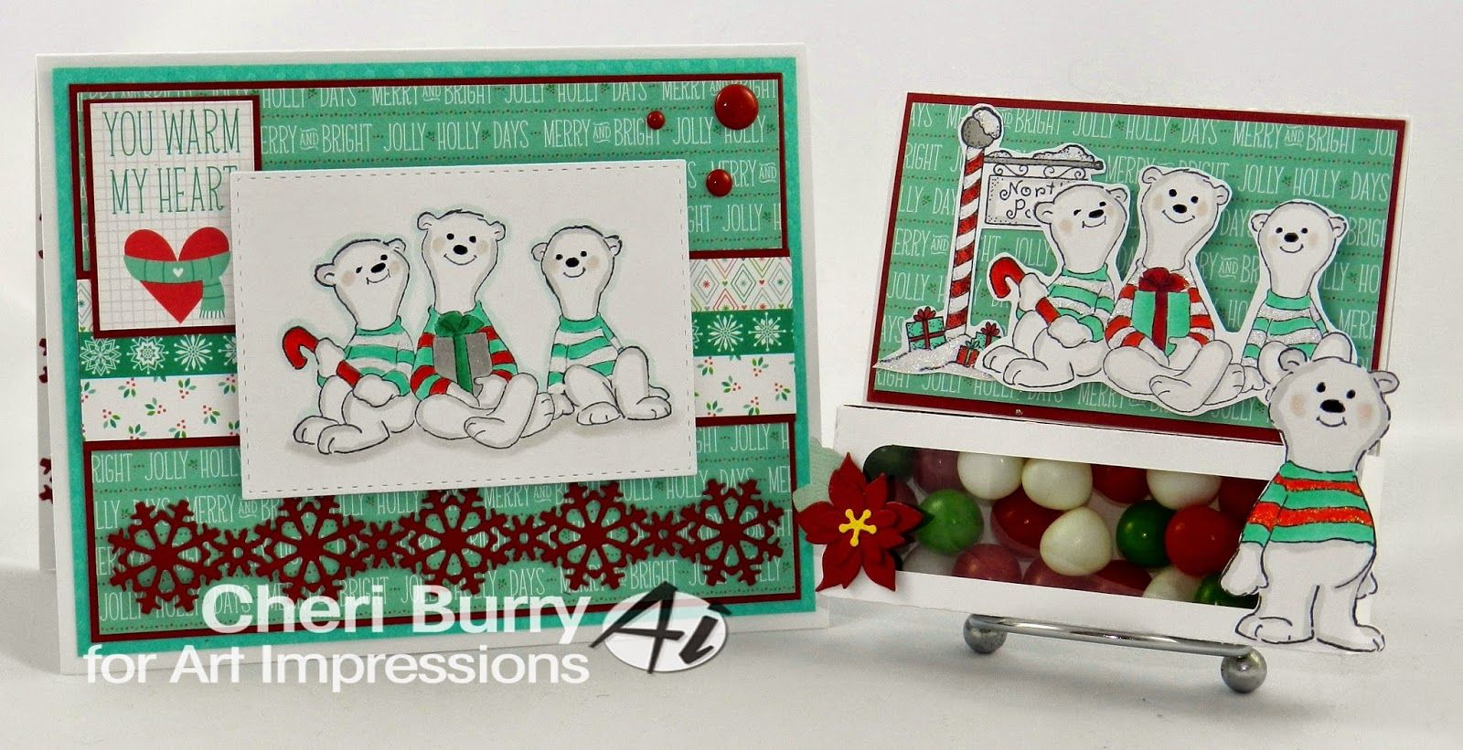 Art Impressions Rubber Stamps