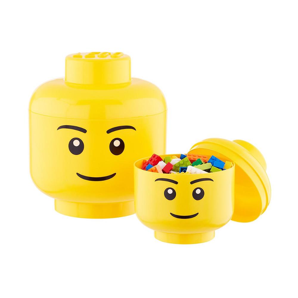 Lego Storage Heads Lego Storage Baby Food Storage Containers Kid Toy Storage