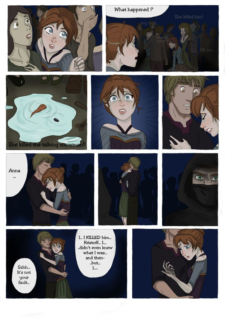 SCORCHED (Frozen graphic novel) Page 8 by RemainUndefined on DeviantArt