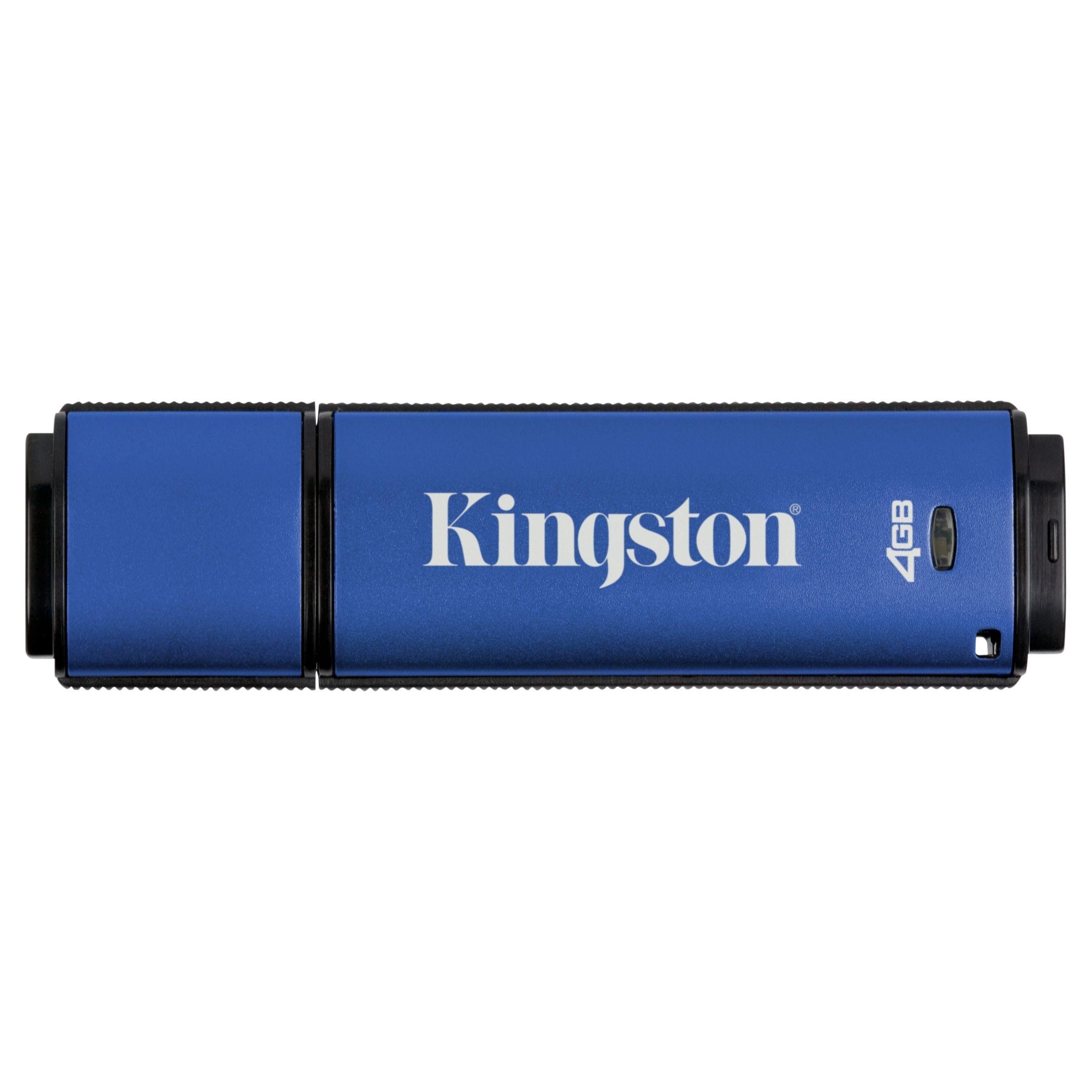 Kingston DataTraveler Vault Privacy 3.0 Anti-Virus #DTVP30AV/4GB