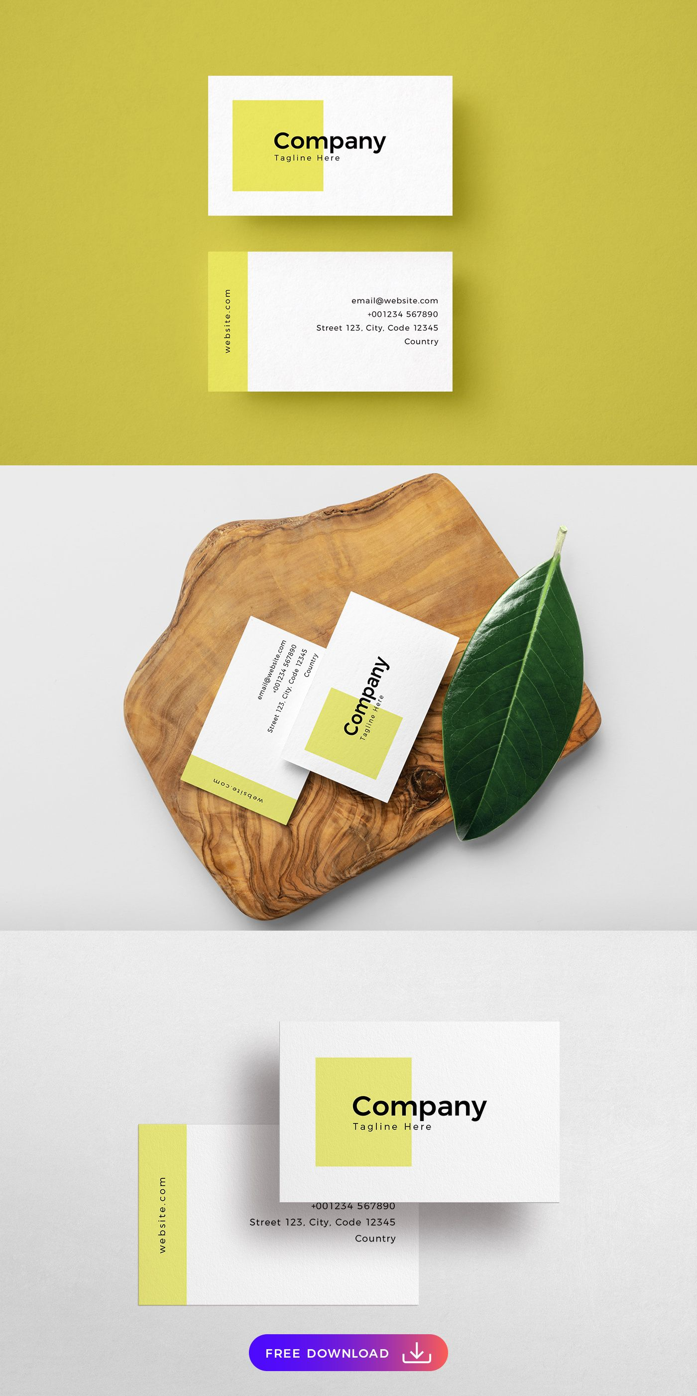 Free Simplistic Shapes Business Card Template Free Business Card Templates Free Business Cards Shaped Business Cards