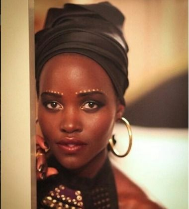 How To Recreate This Lupita Nyong'o Traditional Makeup Look