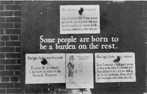 A 1926 Poster Urging the Removal of Defective People