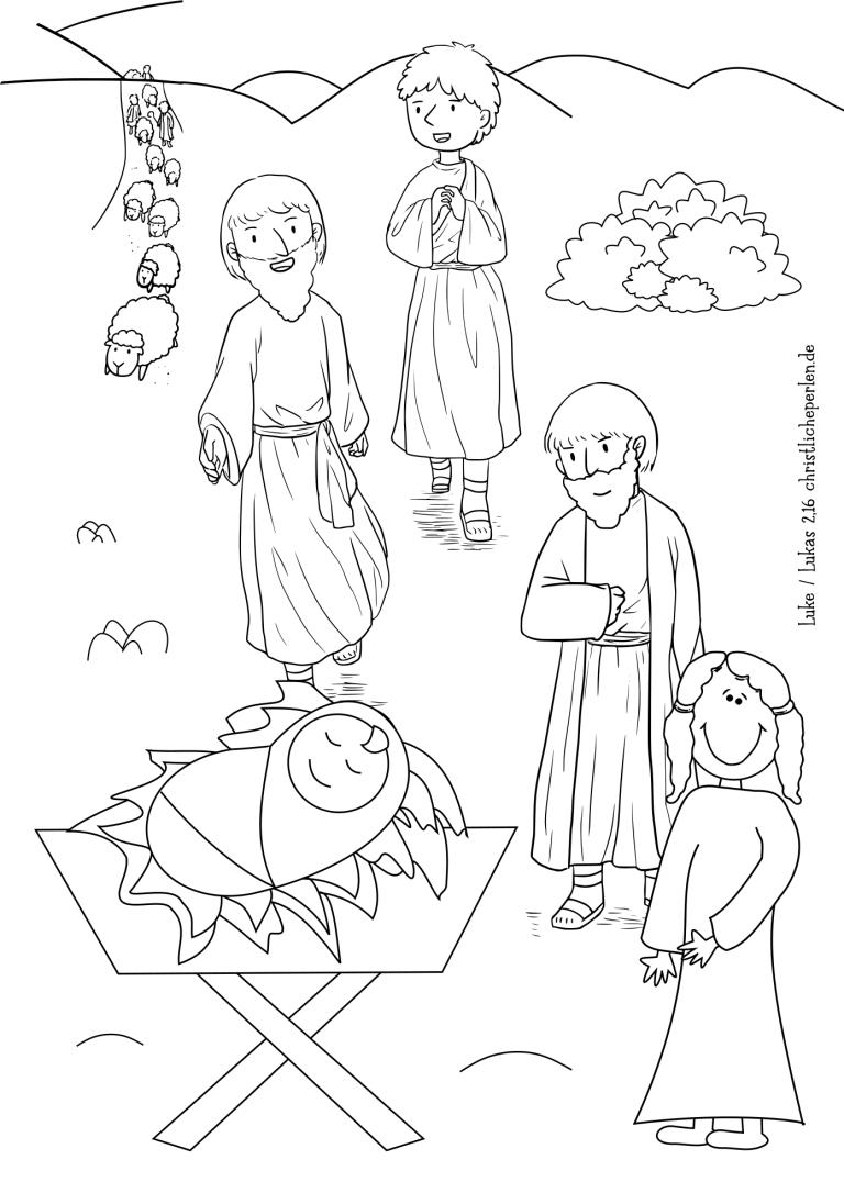 ausmalbilder zur bibel  christliche perlen  ausmalbilder