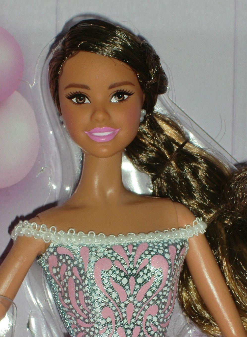 2017 Birthday Wishes Barbie NRFB Hispanic In Spielzeug Puppen Zubehor Mode Spielpuppen