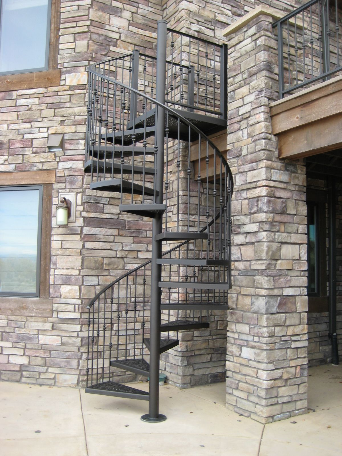Fully Assembled Stairs Manufacturer   Fully Assembled Spiral Staircases | Stairways  Inc