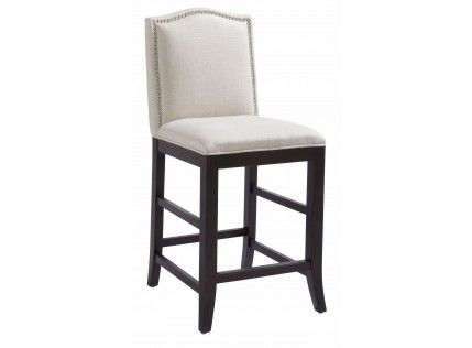 Magnificent Maison Linen Counter Stool Furniture Chairs Upholstery Pabps2019 Chair Design Images Pabps2019Com