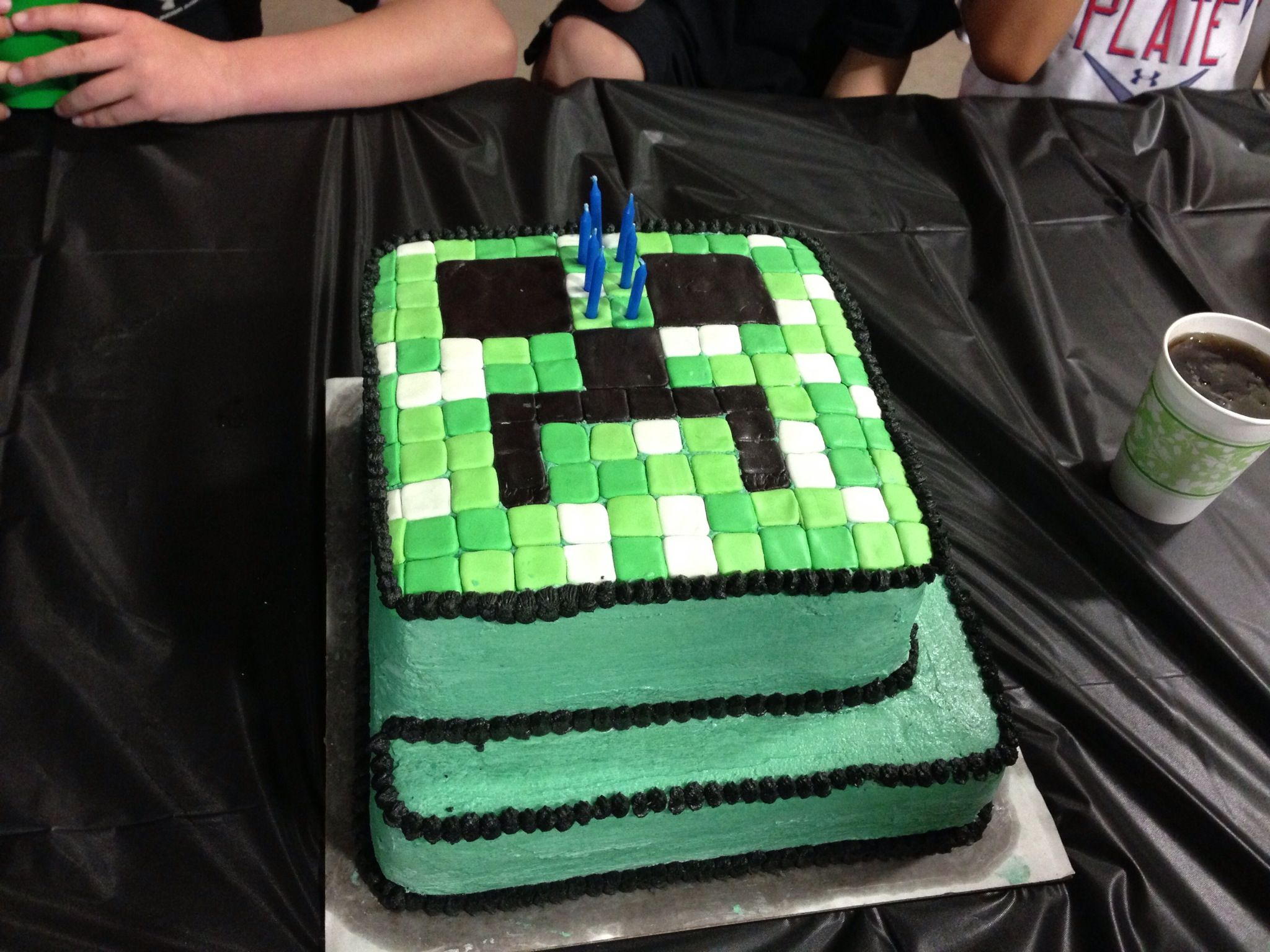 Austins minecraft birthday cake CaKe iDeAs Pinterest