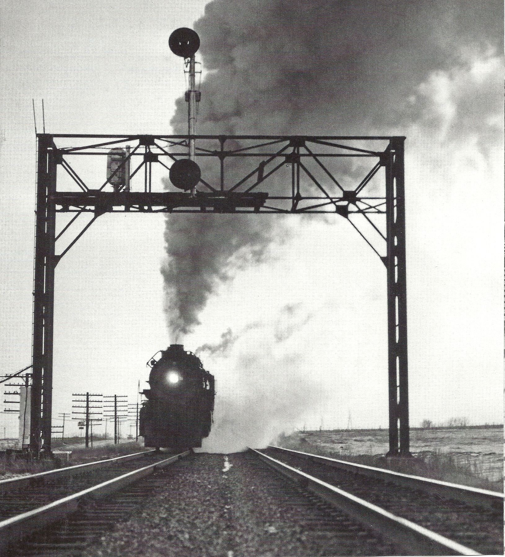 Engine on the eastward main track near Galesburg s from