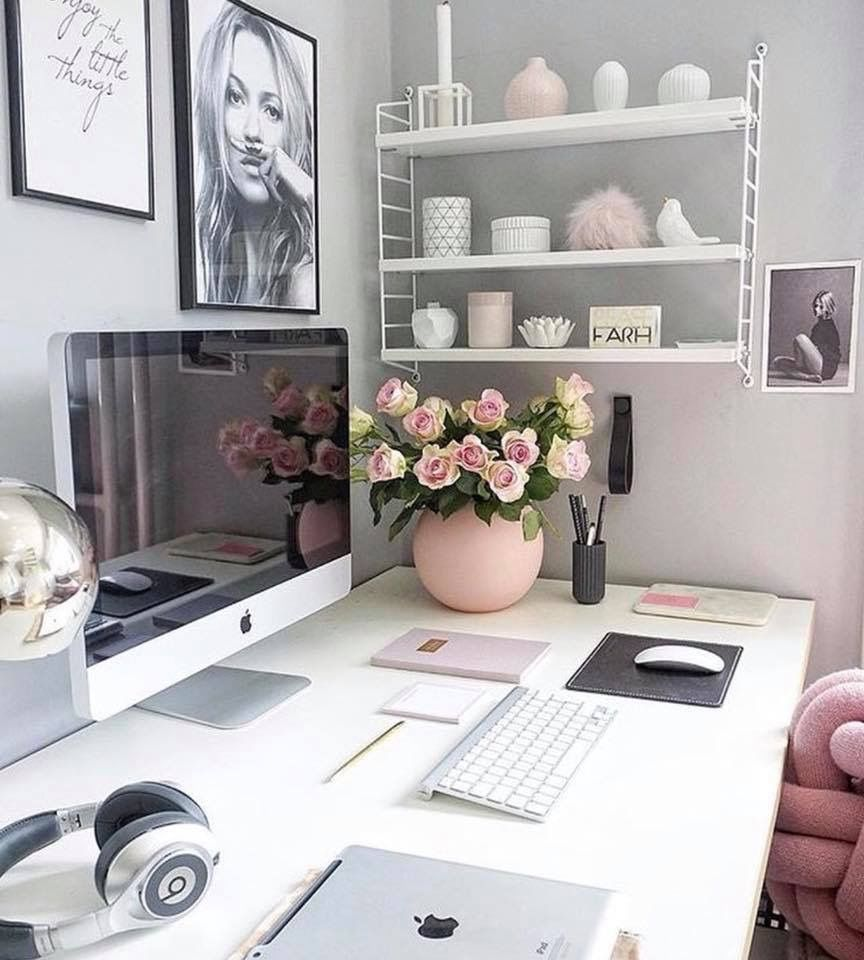 Office Desk Ideas Small Office Space Decorating Ideas Office Accessories Home Office Decor Office Space Decor Small Space Office