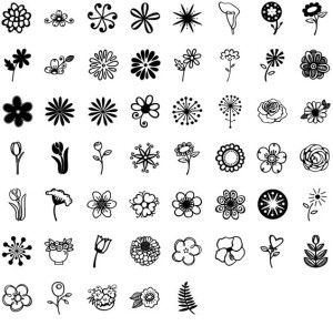 doodles flowers pinterest lotus and janda flower doodles font by kimberly geswein fonts janda flower doodles can be purchased as a desktop and a web font mightylinksfo