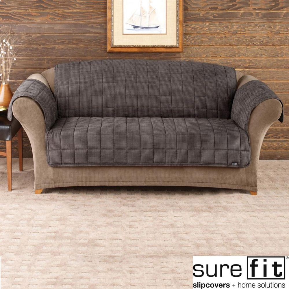 Deluxe Pet Mini Check Sofa Cover | Overstock™ Shopping   Big Discounts On  Sure Fit