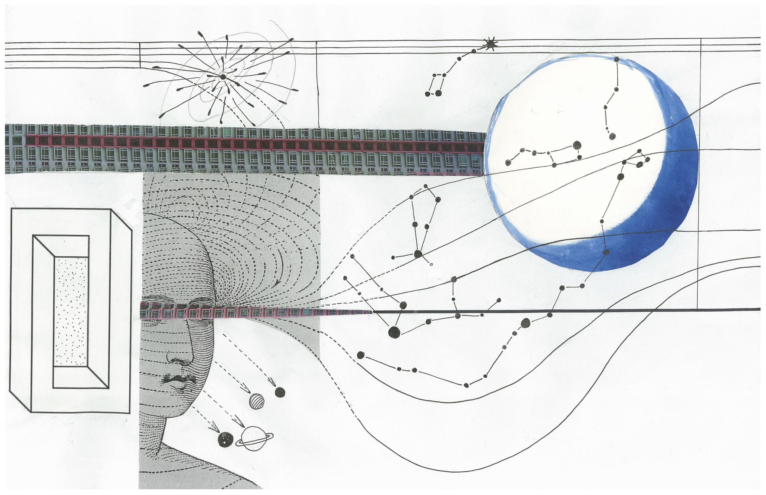 Infinite by Sarita Moodie  https://laboratorioartssociety.wordpress.com/2016/02/22/music-painting-one-page-score/