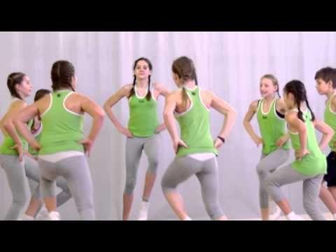 Pohybové skladby pro děti - Klokani - YouTube