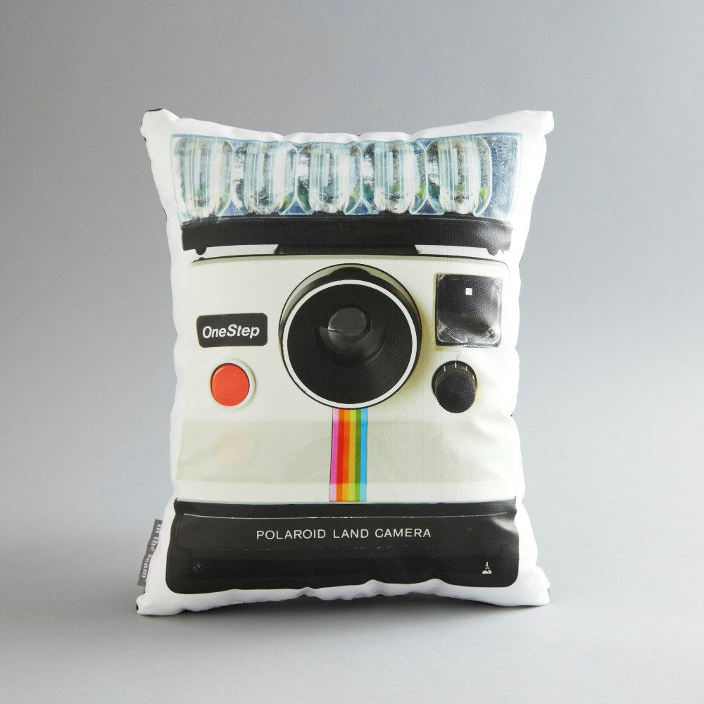 Vintage Polaroid OneStep Printed Pillow by intheseam on Etsy, $65.00