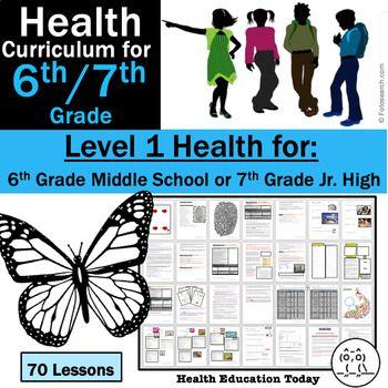 6th Grade Health for Middle School / 7th Grade Health for ...