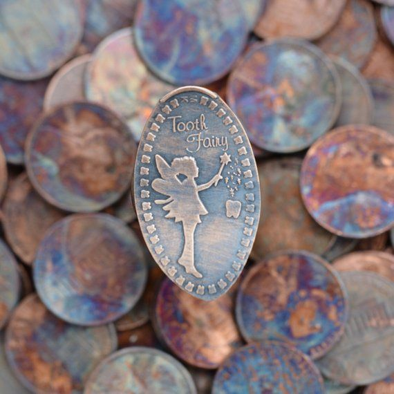 Tooth Fairy Gift • Copper • Tooth Fairy Collection • Tooth Fairy • Pressed Penny