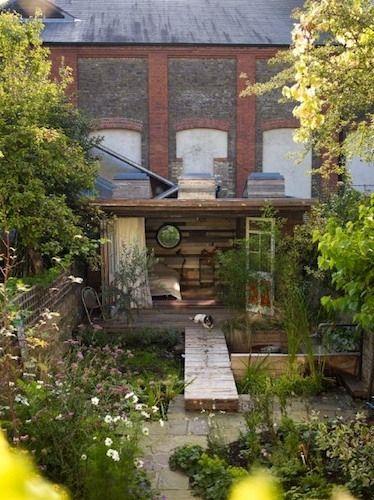 Retrouvius - Reclamation and Design. Garden retreat in the city.