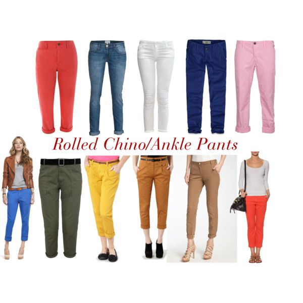 Rolled Chino Pants, preview - POST COMING TOMORROW ! : )