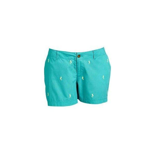 Women's Plus Printed-Twill Shorts (5 ($30) via Polyvore