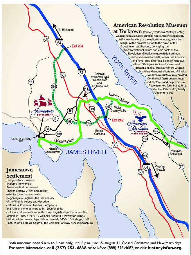 Map and directions to Jamestown Settlement and the American ... Map Of Eastern Virginia Jamestown Settlement on jamestown kentucky map, roanoke settlement map, jamestown success, jamestown vs. plymouth, jamestown voyage map, jamestown geographic map, jamestown virginia colonies map, jamestown virginia america map, jamestown virginia map printable, roanoke and jamestown colonies map, jamestown on map, jamestown island map, old jamestown map, old virginia colony map, jamestown tour, jamestown colony, jamestown maps in the 1600, jamestown settled, williamsburg virginia map, 1610 jamestown virginia map,