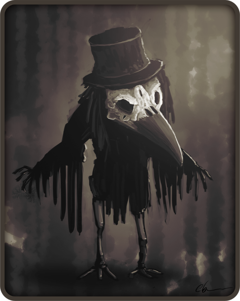 I want to frame this. Gabo by cay on deviantART Crow art