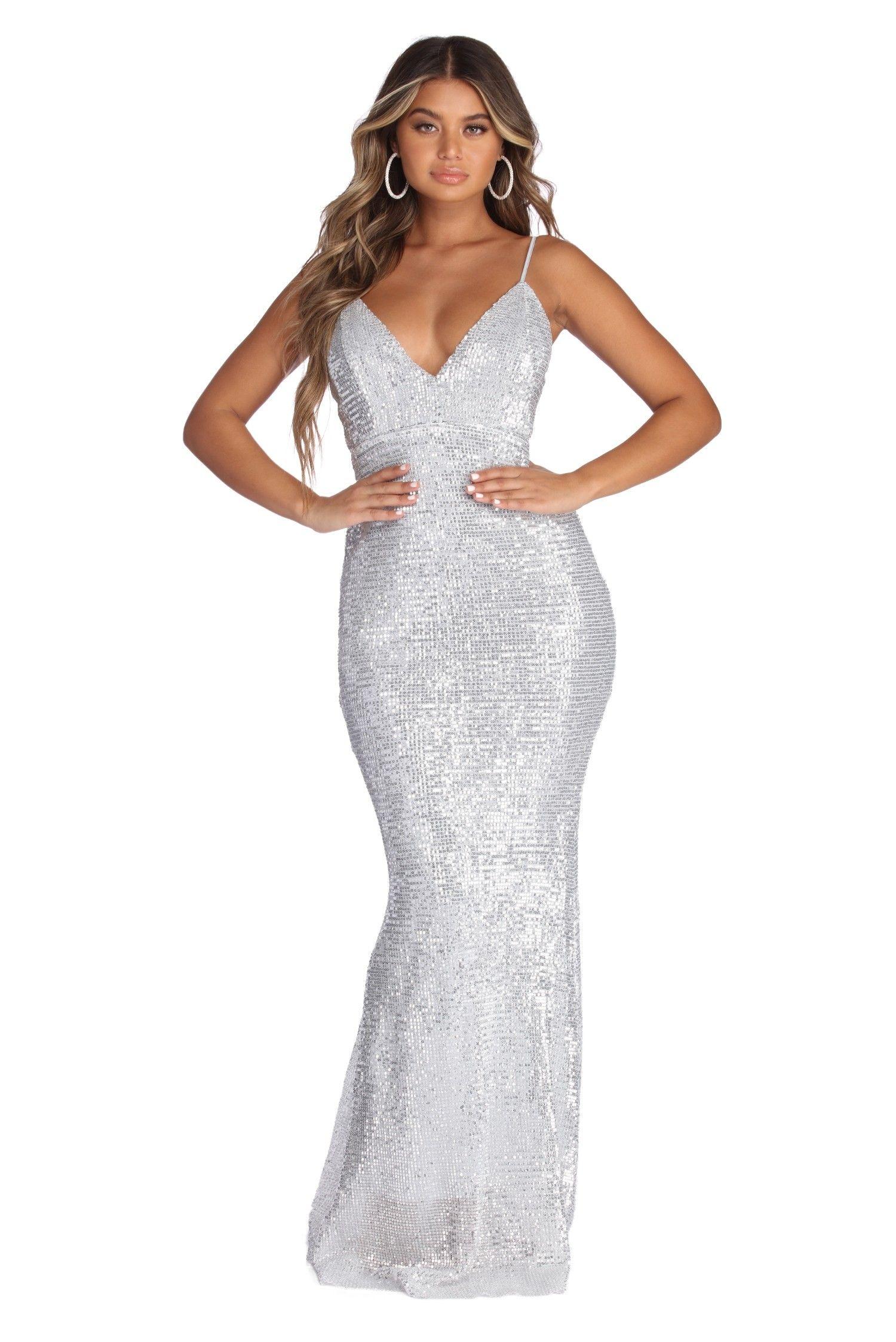 094c0f95 Gabriela Formal Sequin Glam Dress in 2019   prom   Glam dresses ...