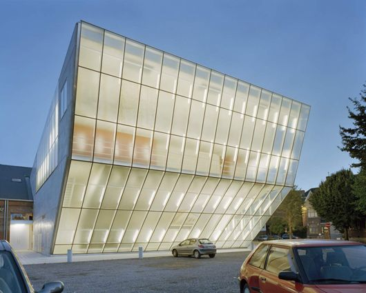 """Teatro """"Le Manege.Mons"""" / Atelier d'architecture Pierre Hebbelinck"""