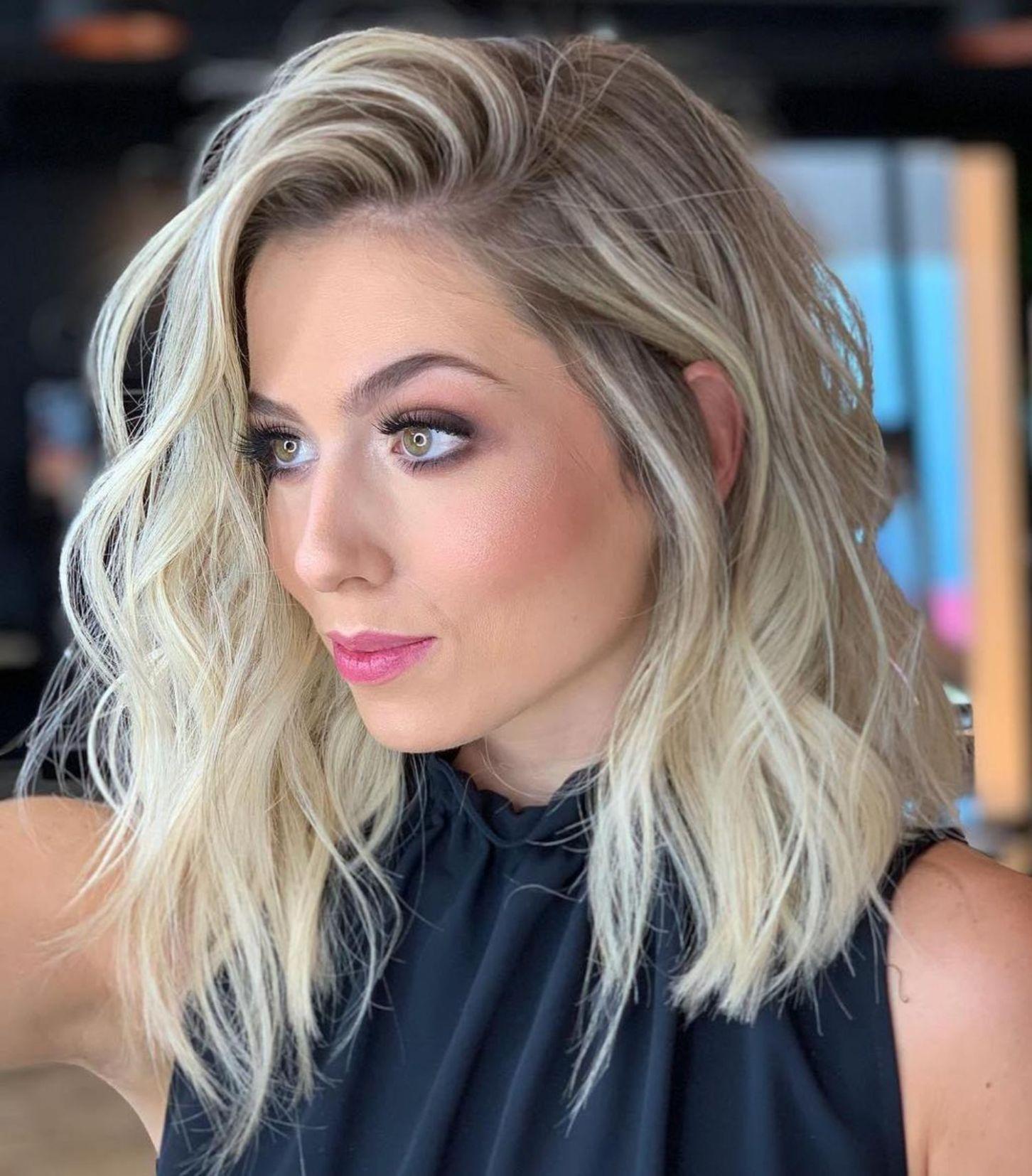 60 Fun and Flattering Medium Hairstyles for Women | Medium ...