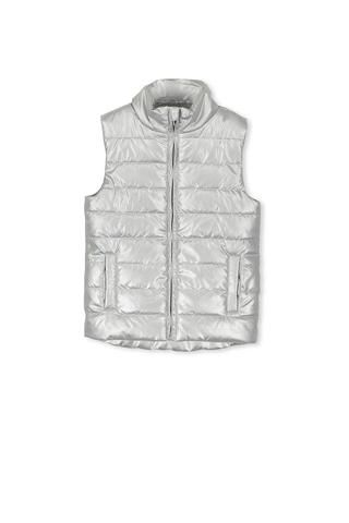 36685edfa Love LoVe LOVE this Silver Puffer Vest by Milky. Shimmer and shine through  those wintery days!! available at spunkybubs online store