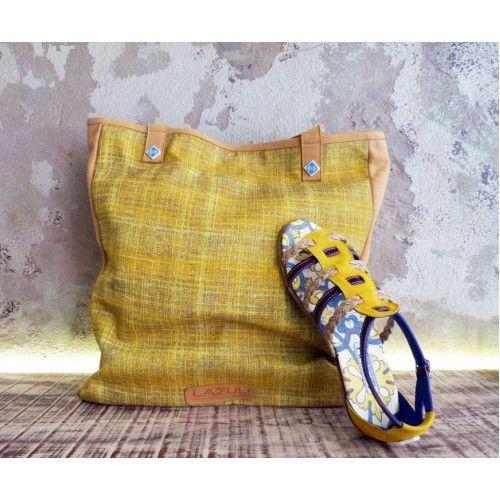 Shoe & Bag yellow set