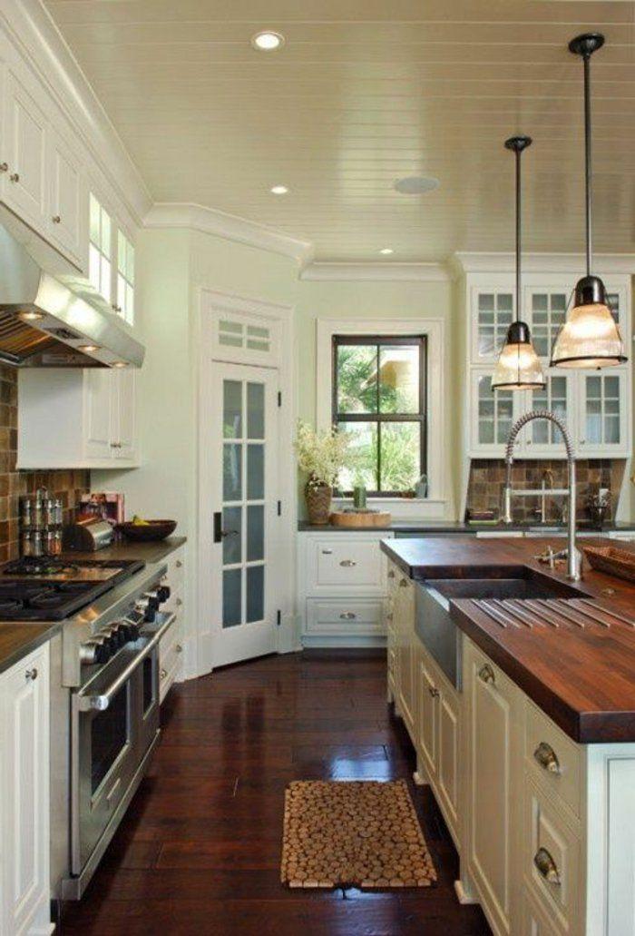 45 idées en photos pour bien choisir un îlot de cuisine Kitchens - Plan De Cuisine Moderne Avec Ilot Central