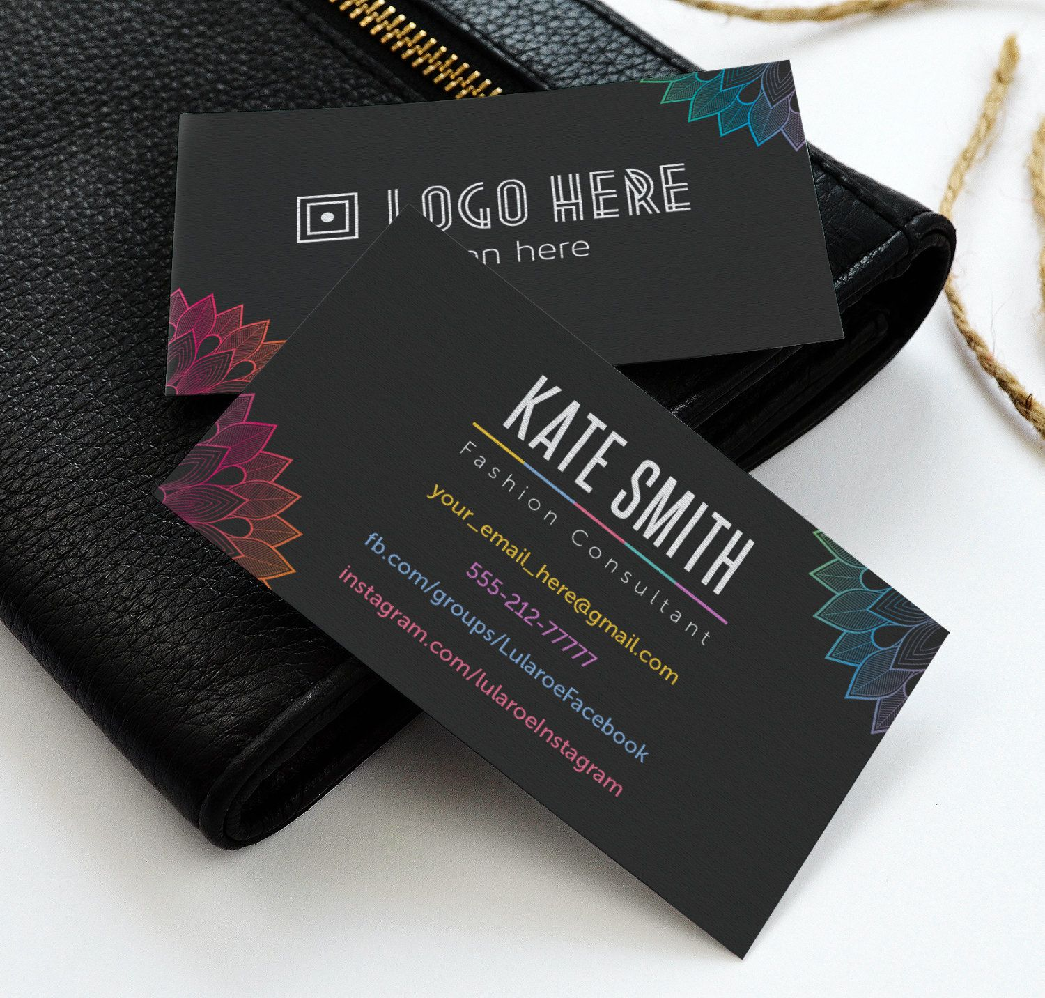 Lula Business Card, Free Fast Personalize, Home Office Approved ...