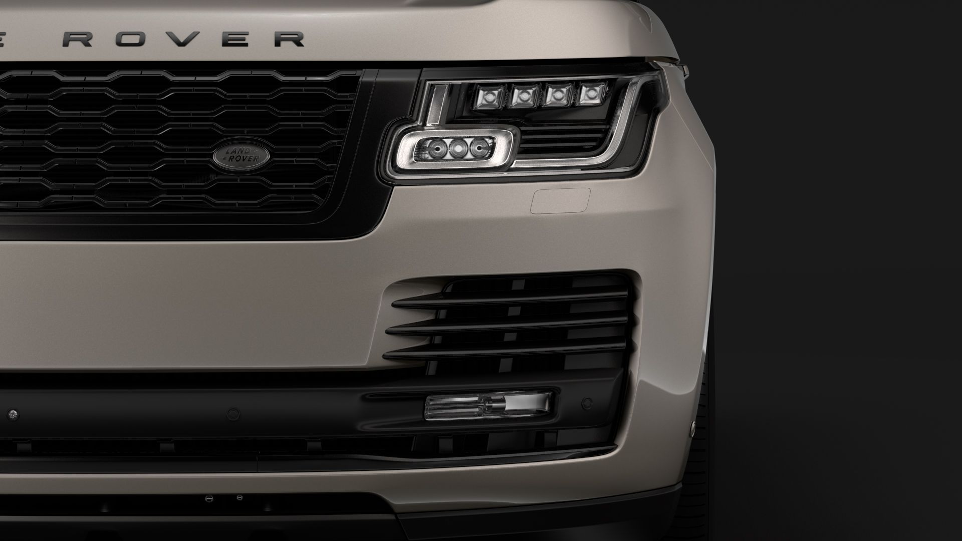 Range Rover Autobiography Hybrid (L405) 2018 | Diecast Model Cars