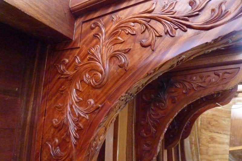 wood filigree
