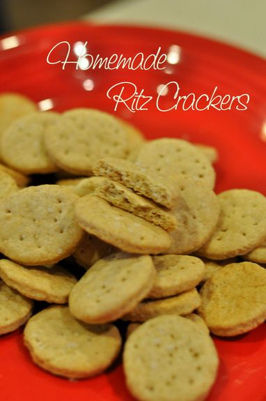 Homemade Whole Wheat Ritz Crackers 100 Days Of Real Food